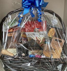 Gift Basket - Black Rectangle Basket