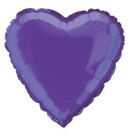 """Purple Heart Foil Balloon 18"""""""