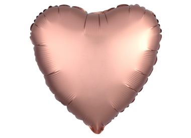 Solid Colour Heart Shaped Mylar Balloons