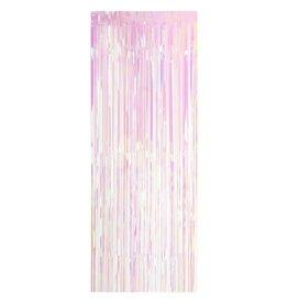 Iridescent Fringe Door Curtain, 8FT
