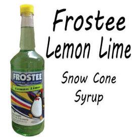 Snow Cone Syrup - Lemon Lime, 1L