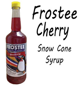 Snow Cone Syrup - Cherry, 1L