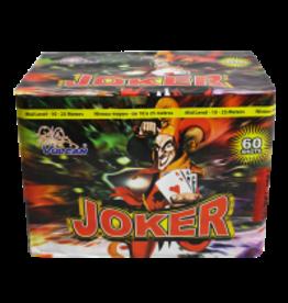 Joker Fireworks Cake, 60 Shots