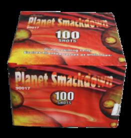 Planet Smackdown Fireworks Cake, 100 Shots