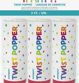 Twist Poppers 3ct