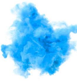 Gender Reveal Smoke Grenade - Blue