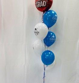 Grad Balloon Bouquet #1