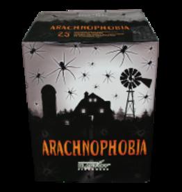 Arachnophobia Fireworks Cake, 25 Shots