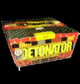 The Detonator Fireworks Cake, 100 Shots