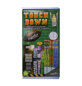 Touch Down Fireworks Kit - 36 Shots