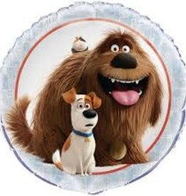 "The Secret Life Of Pets 18"" Foil Balloon"