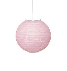 """Light Pink 10"""" Paper Lantern"""