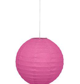 """Pink 10"""" Paper Lantern"""