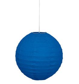 """Royal Blue 10"""" Paper Lantern"""