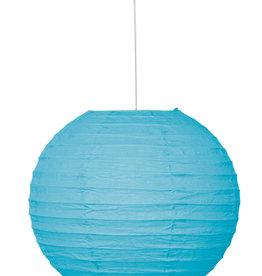 "Light Blue 10"" Paper Lantern"