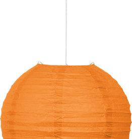 """Orange 10"""" Paper Lantern"""