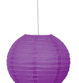 "Purple 10"" Paper Lantern"