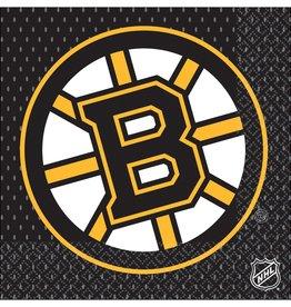 Boston Bruins Luncheon Napkins, 16ct