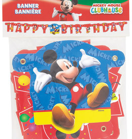 Mickey Mouse 'Happy Birthday' Letter Banner, 4.16FT