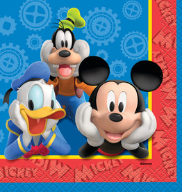Mickey Mouse Beverage Napkins, 16ct