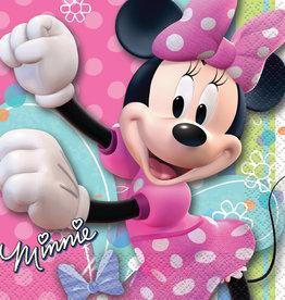 Minnie Mouse Beverage Napkins, 16ct