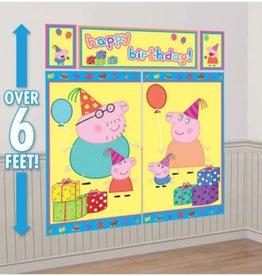 Peppa Pig Photobooth Backdrop, 6FT