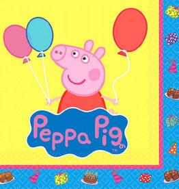 Peppa Pig Beverage Napkins, 16ct