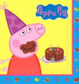 Peppa Pig Luncheon Napkins, 16ct