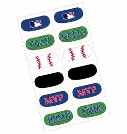 MLB Baseball Face Tattoos, 12ct