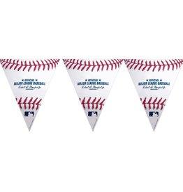 Rawlings MLB Baseball Pennant Banner, 12FT