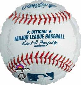 "Rawling MLB Official Baseball Foil Balloon 18"""