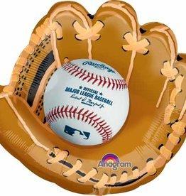"""Baseball Glove 25"""" Foil Balloon"""