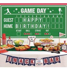 Baseball Buffet Kit, 15ct
