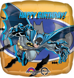 "Batman Happy Birthday Foil Balloon 18"""