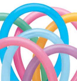 260Q Vibrant Assorted Twisting Animal Balloons 100ct