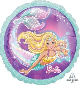 """18"""" Mermaid Barbie Foil Balloon"""