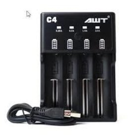 AWT AWT C4-2A Charger (4 bay charger) (30 Day Warranty)