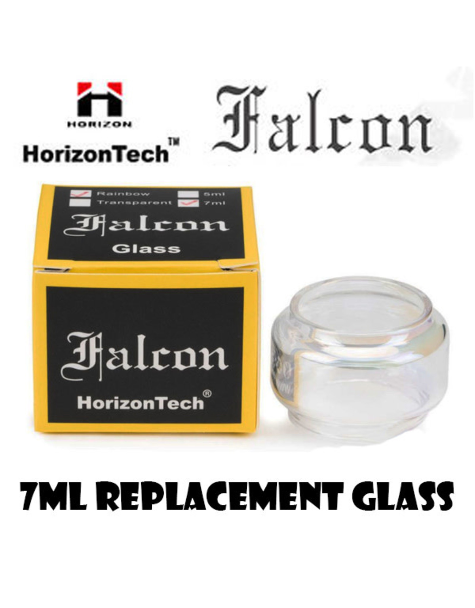 Horizon HorizonTech Falcon / King 7ML Replacement Bubble Glass