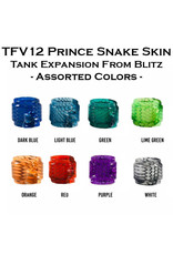 TFV12 Prince Snake Skin Tank Expansion From Blitz   - Assorted Colors -