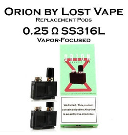 Lost Vape Orion by Lost Vape Replacement Pods - Pack of 2
