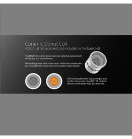 DazzVape DazzVape MELTER Replacement Coils - Ceramic Donut Best Wattage: 20-25W / TC 280-380 F Single