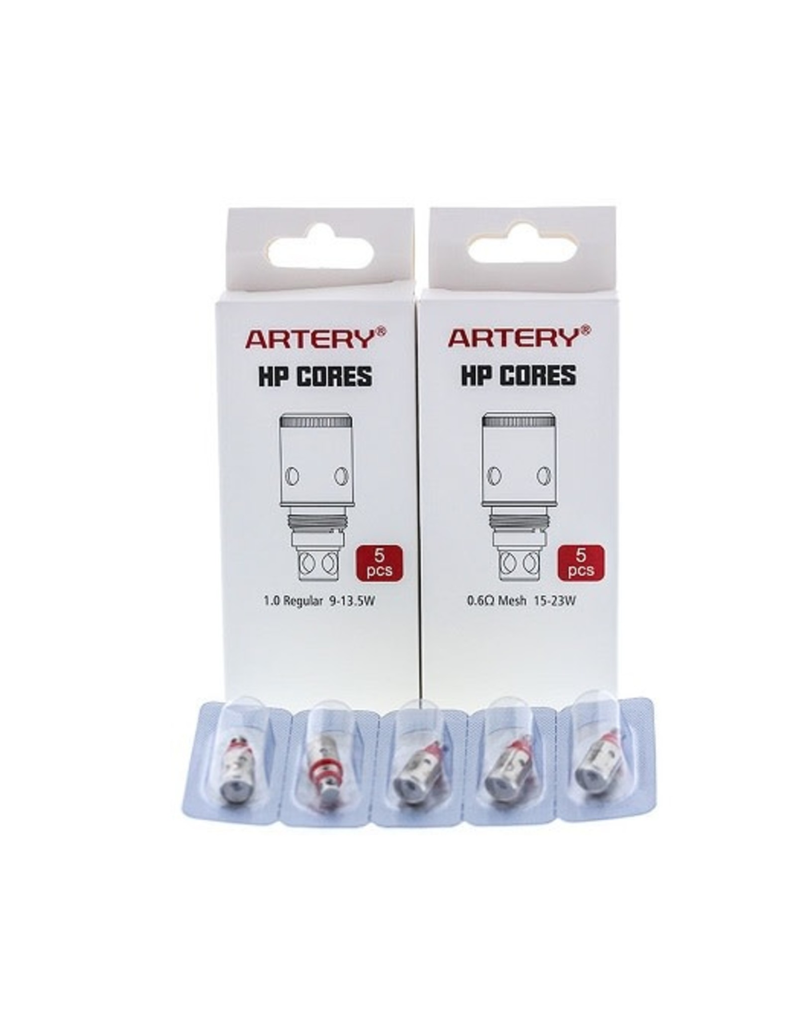 Artery Vapor Artery Vapor PAL 2 Replacement Coils - Pack of 5