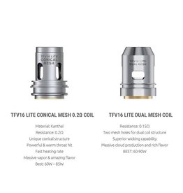 Smok Smok TFV16 Lite Replacement Coils- 3 pack
