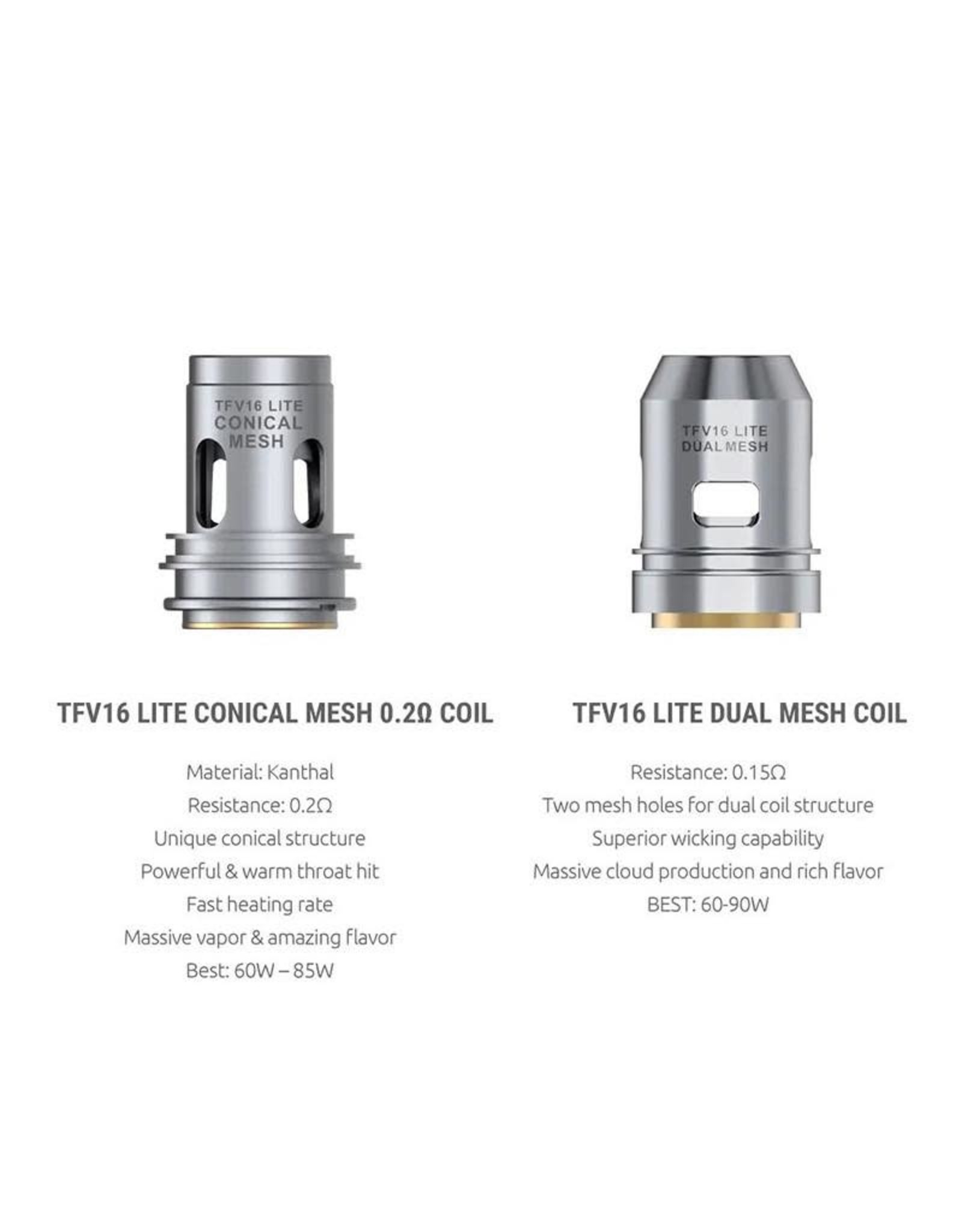 Smok Smok TFV16 Lite Replacement Coils- 3 pack
