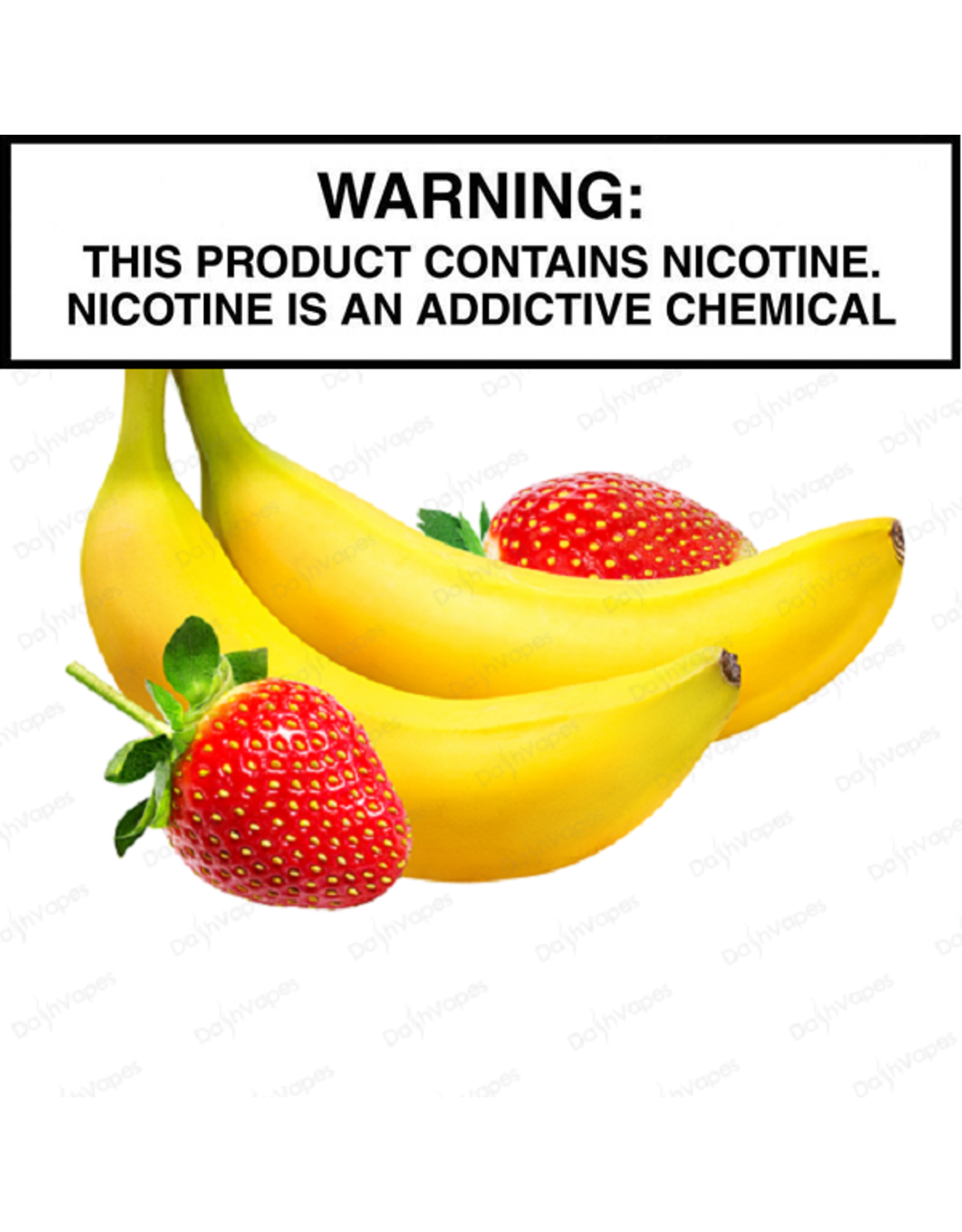 N2 Vapes House Juice Strawberry Banana E-Juice