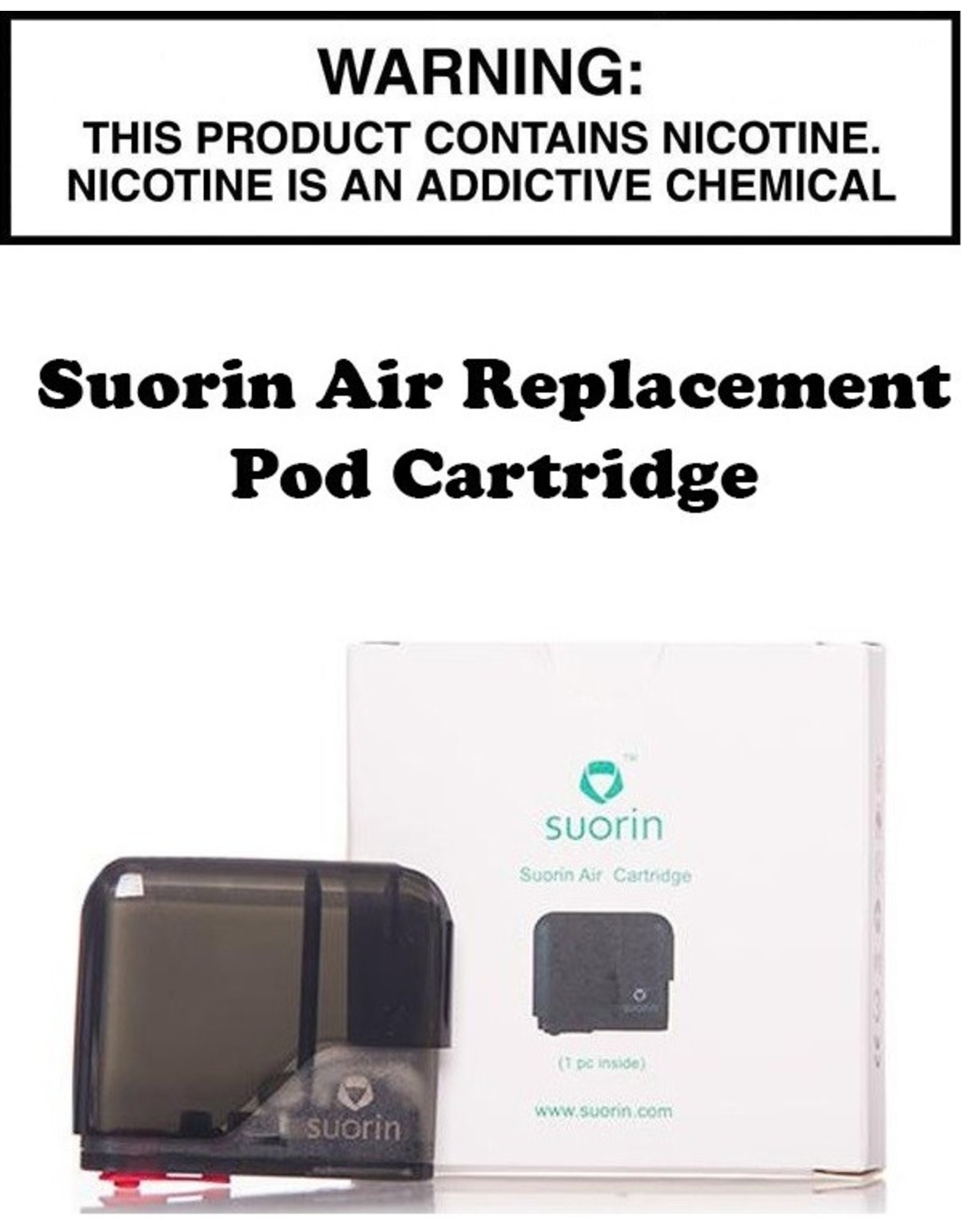 Suorin Suorin Air Replacement Pod Cartridge - 2ML