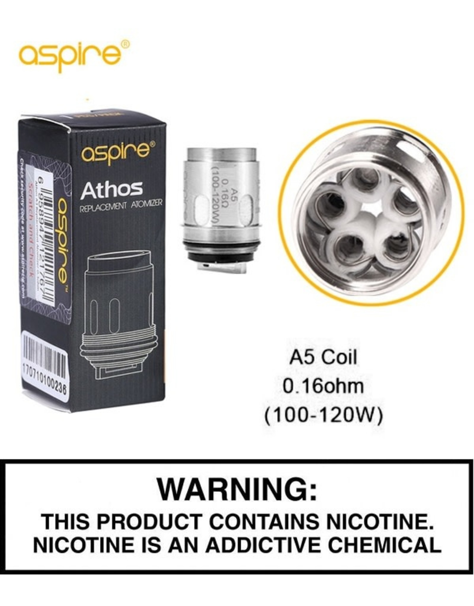 Aspire Aspire Athos Replacement Coil - Single