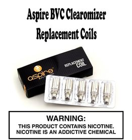 Aspire Aspire BVC Clearomizer Replacement Coils - Pack of 5