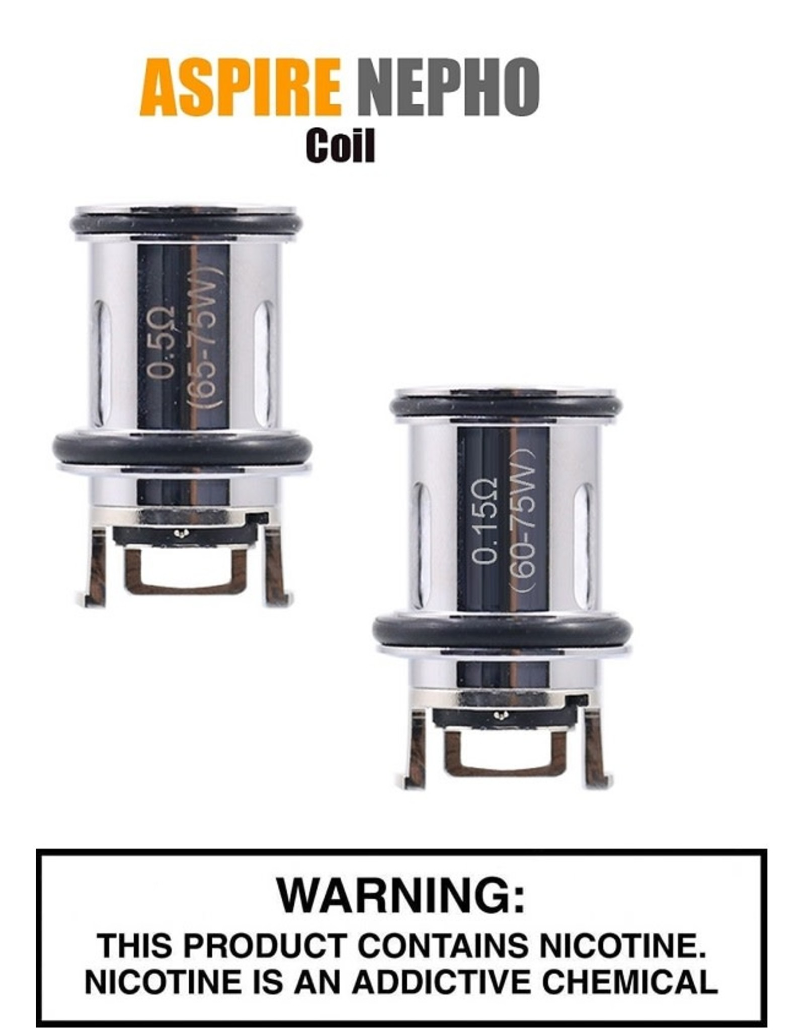 Aspire Aspire Nepho Tank Replacement Coil - Pack of 3