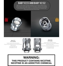Smok SMOK TFV8 BABY V2 (Version 2) - S Stick Series Replacement Coils - Pack Of 3